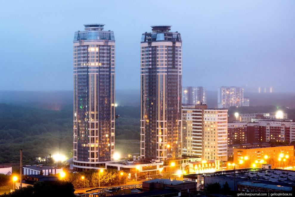 37-этажный жилой комплекс «Чемпион-парк».
