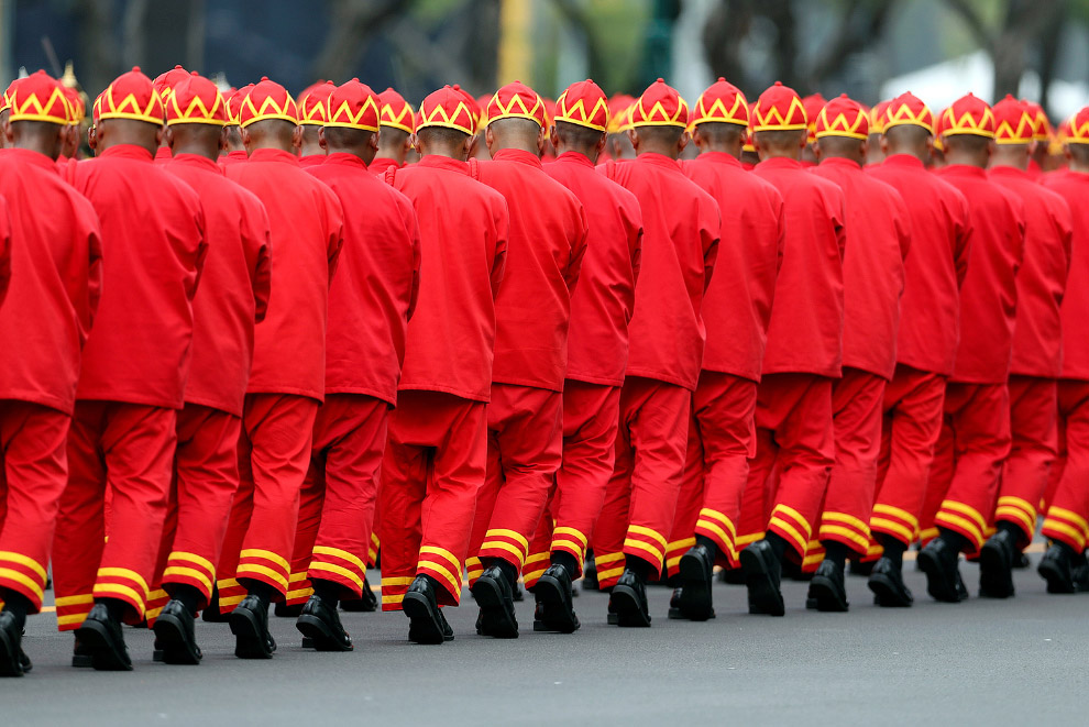 Королевские похороны в Таиланде