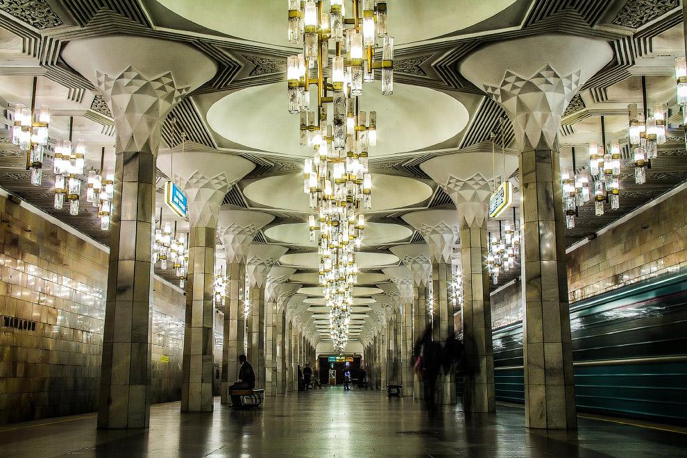Станция Мустакиллик