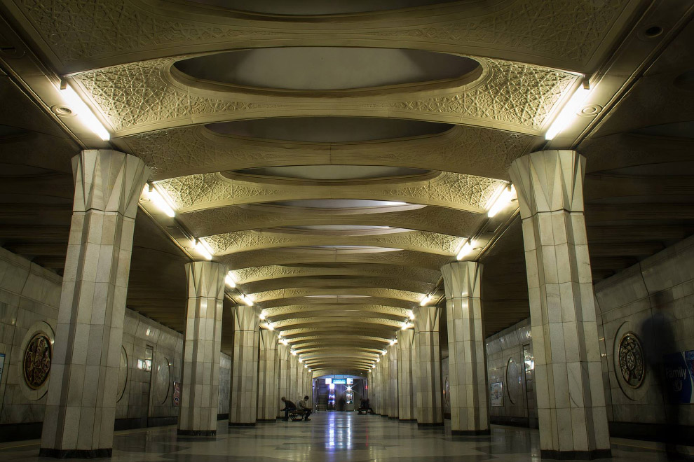 Станция «Бунёдкор»