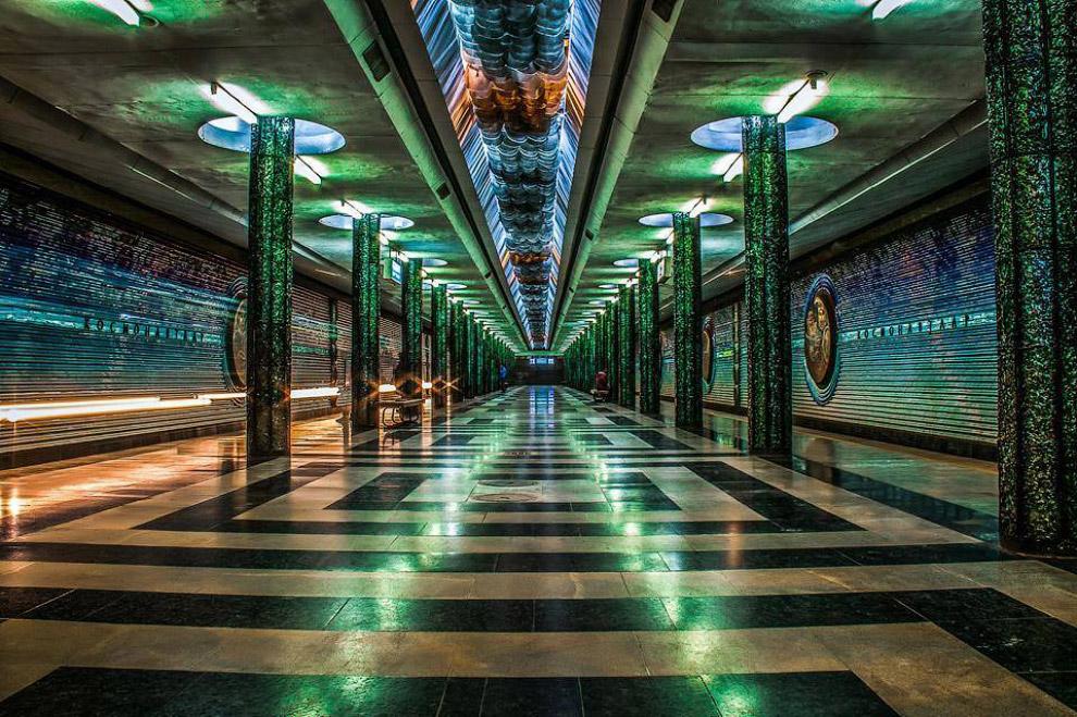 Станция Космонавтов
