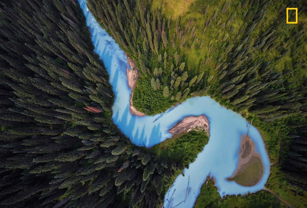 Река Холмс, Британская Колумбия, Канада