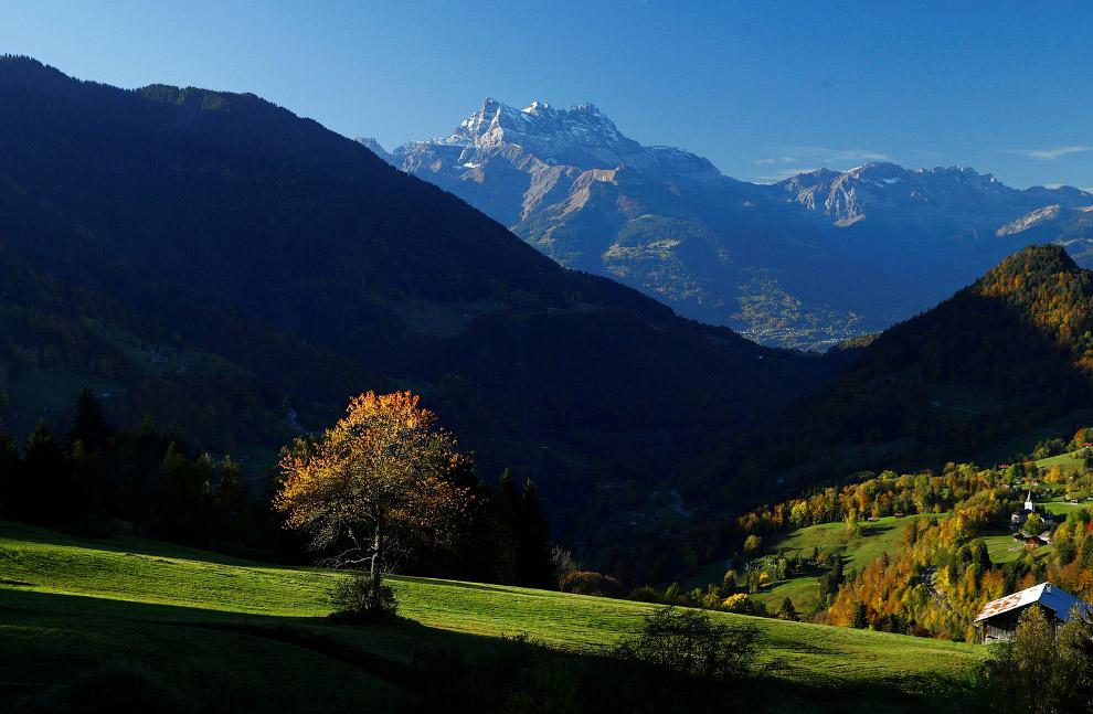 А это осенняя Швейцария