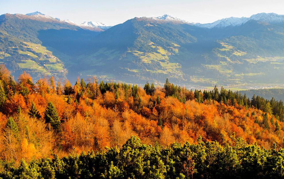 Осень в австрийской деревеньке Гнаденвальд