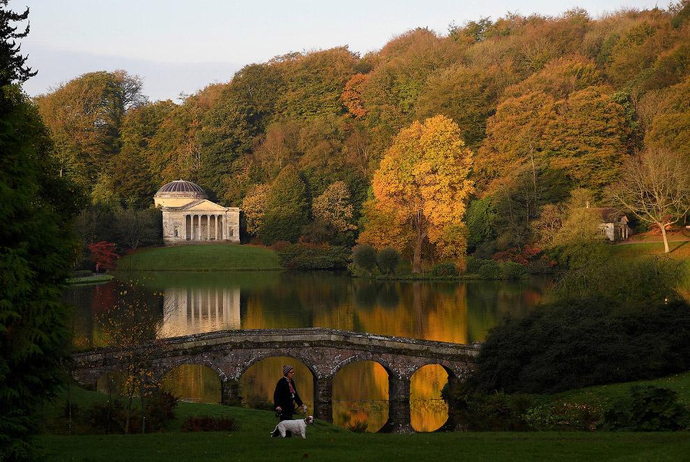 Осенние дни в графстве Уилтшир, Англия