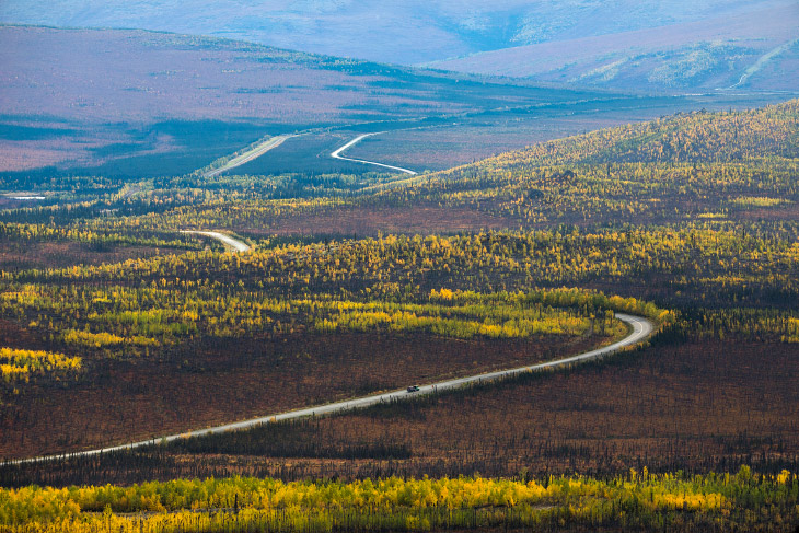 Самая северная дорога Америки