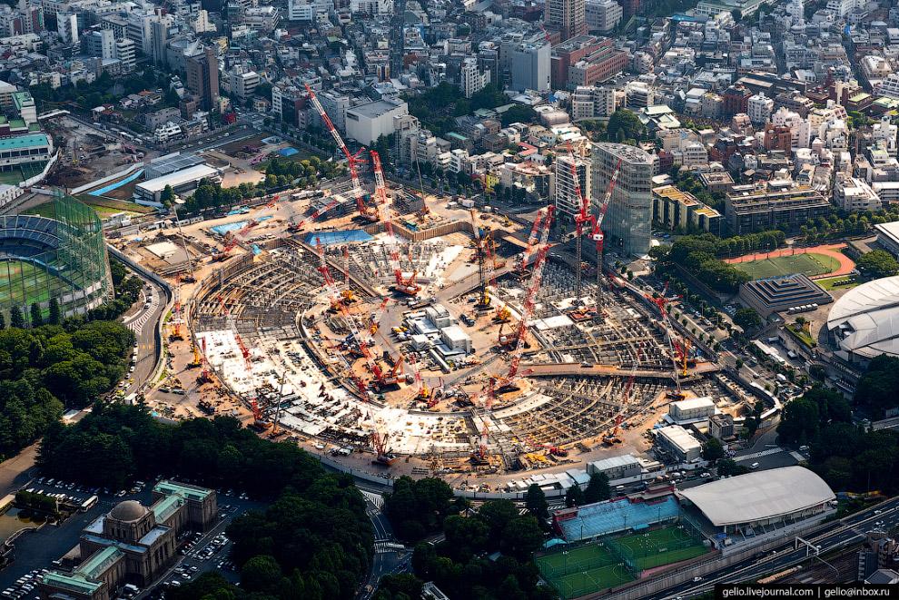 Строительство нового Олимпийского стадиона