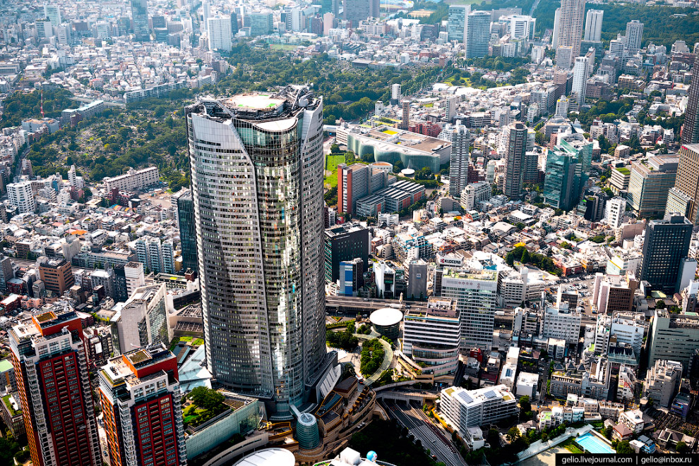 Здание Roppongi Hills Mori Tower