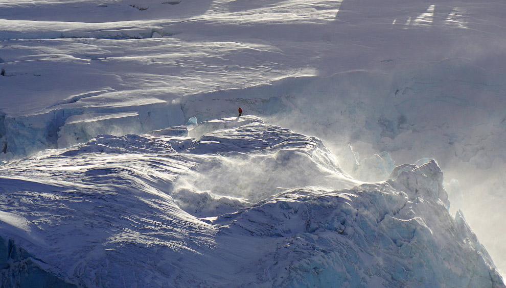 Человек и ледники