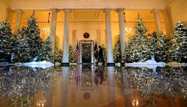 Новогодний Белый дом 2017