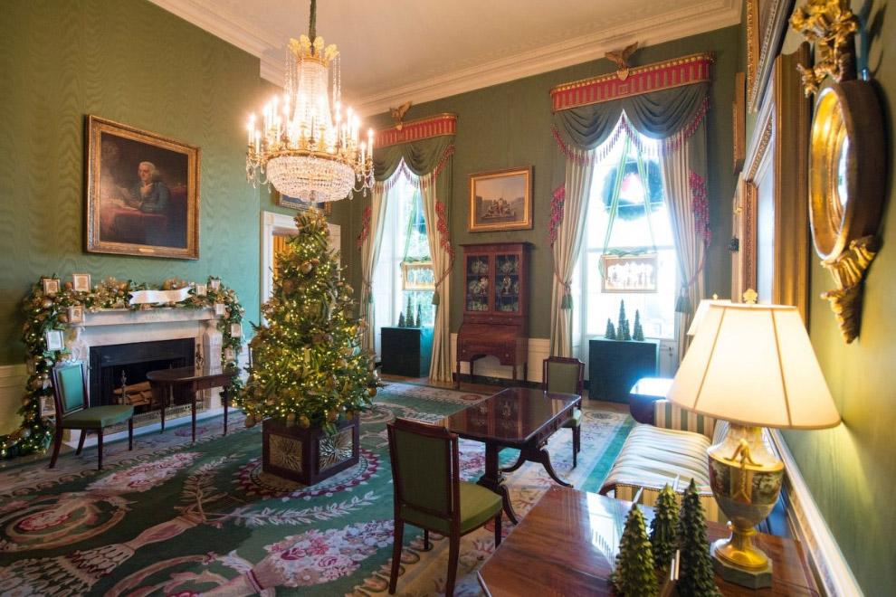 Зеленая комната - место для чаепитий