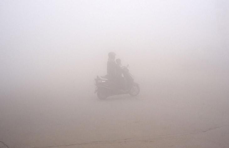 Токсическое небо Индии