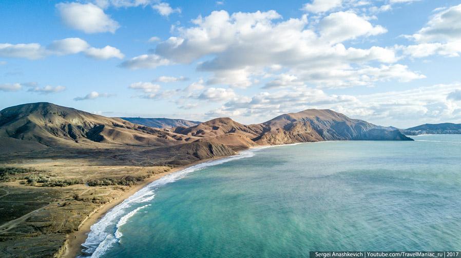 Вид на Тихую бухту с мыса Хамелеон