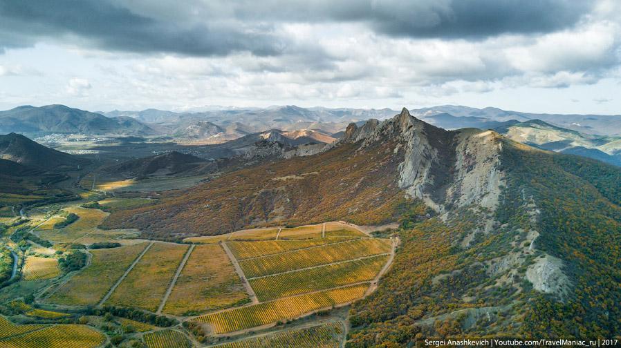 Айванская долина и Таракташ