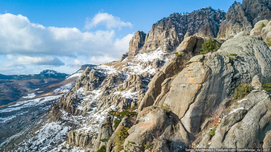 Долина Привидений с квадрокоптера