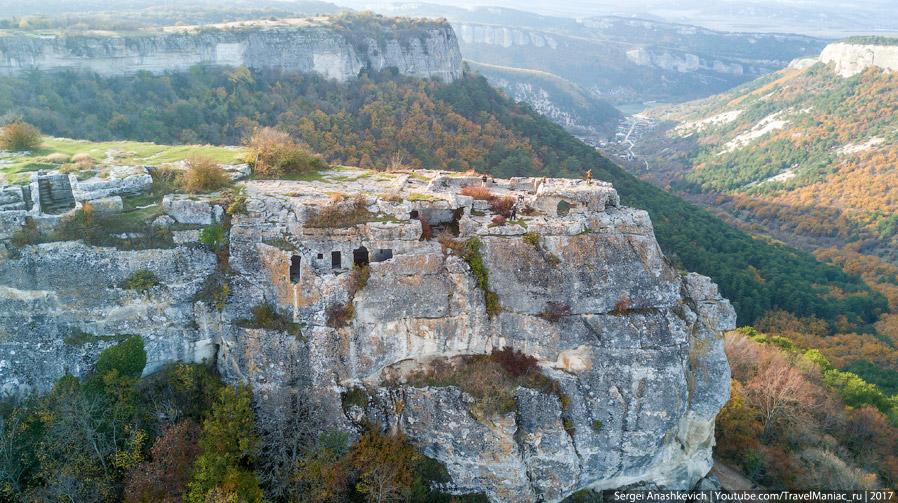 Пещера Барабан-Коба сбоку