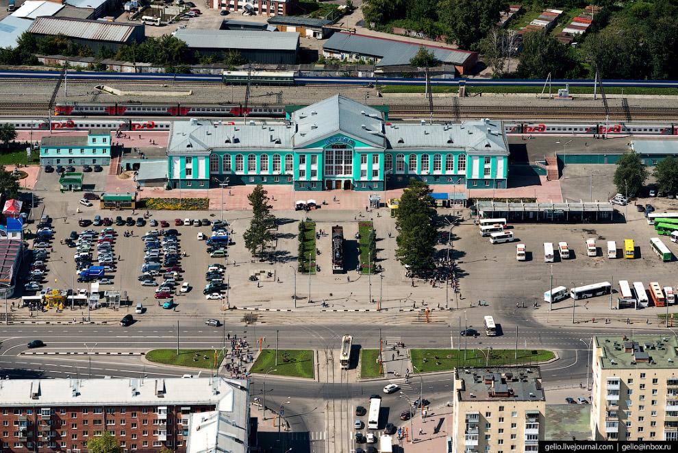 Железнодорожный вокзал станции Кемерово