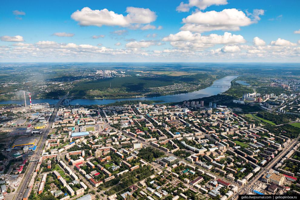 Центральная часть города Кемерово