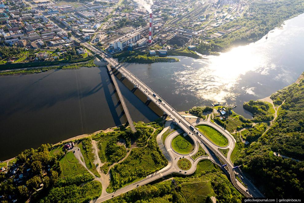 Кузнецкий мост через Томь