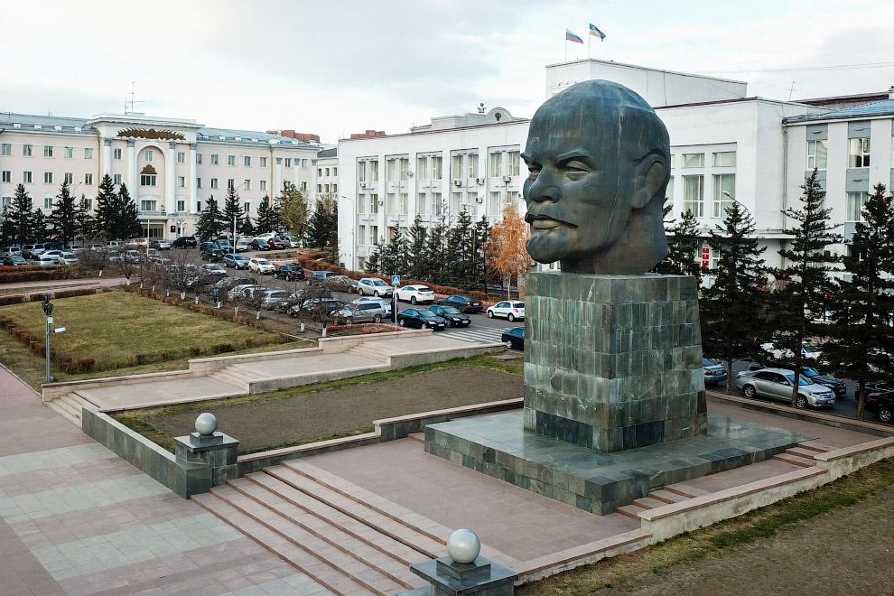 Ленин в Улан-Удэ