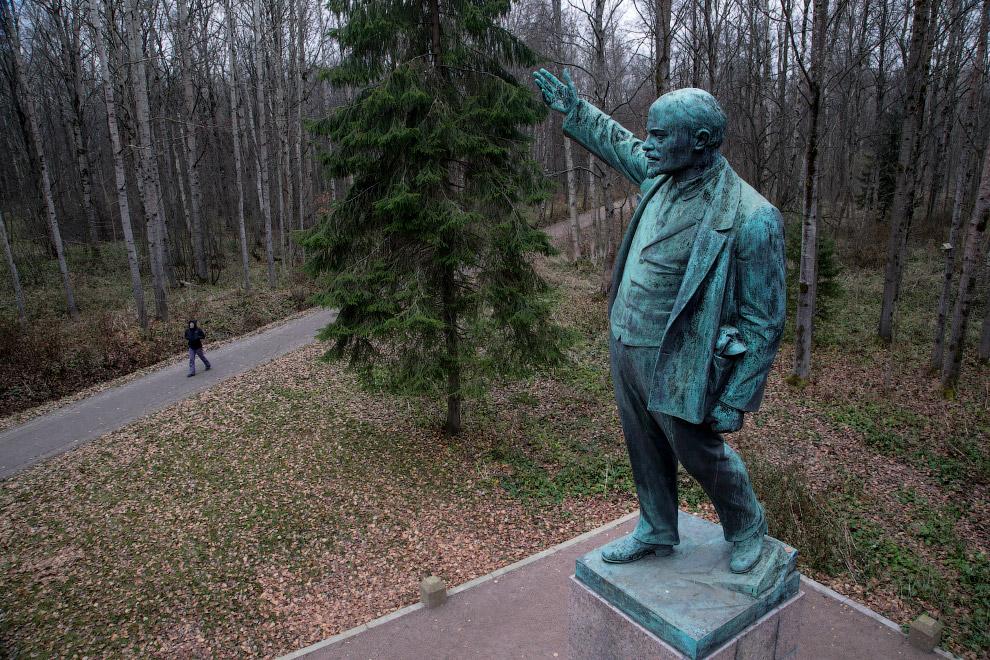Ленин в музее под Санкт-Петербургом