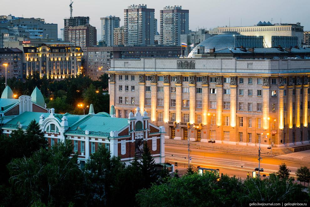Мэрия Новосибирска.