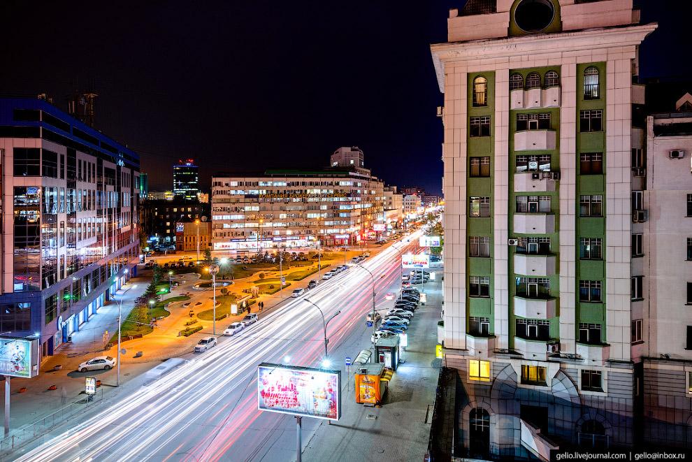 Вокзальная магистраль самая широкая улица Новосибирска — 24,5 метра.