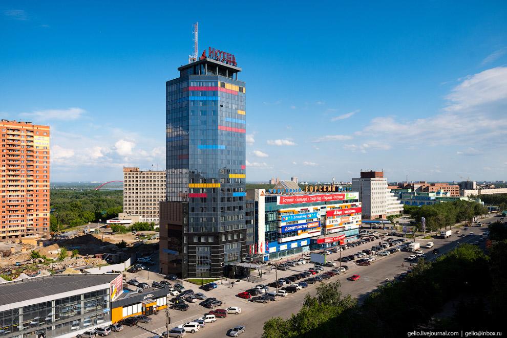 Бизнес-центр и отель «Горский-Сити».