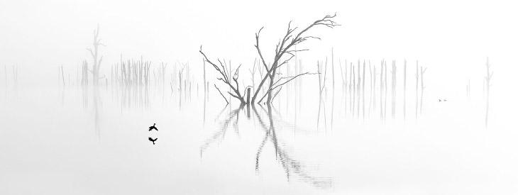 Озеро в Новом Южном Уэльсе, Австралия