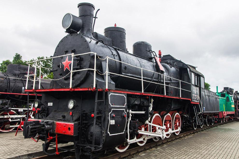 Паровоз Типа 0-5-0 серии ЭР №727-24