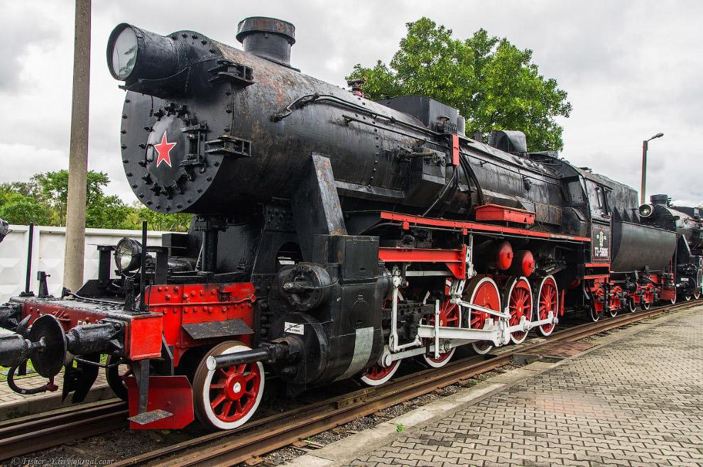 Паровоз Типа 1-5-0 серии ТЭ №5806