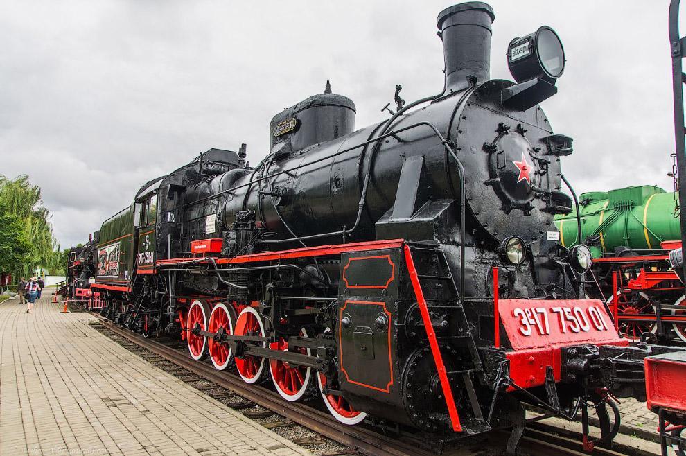 Паровоз Типа 0-5-0 серии ЭР №17-750-01