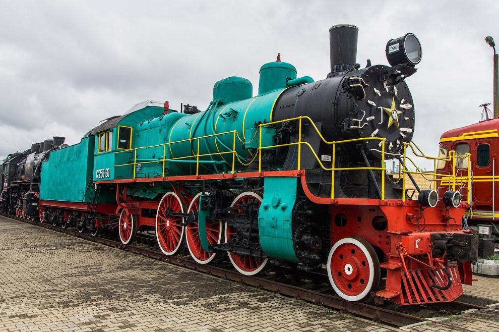 Пассажирский паровоз Типа 1-3-1 серии Су №250-30