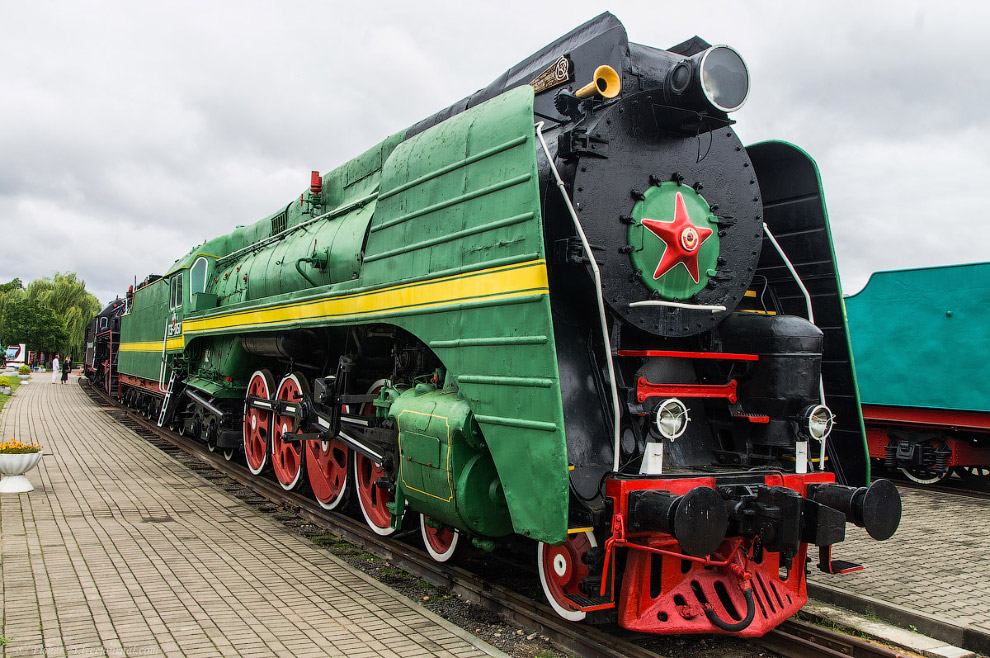 Паровоз Типа 2-4-2 серии П36 №0050