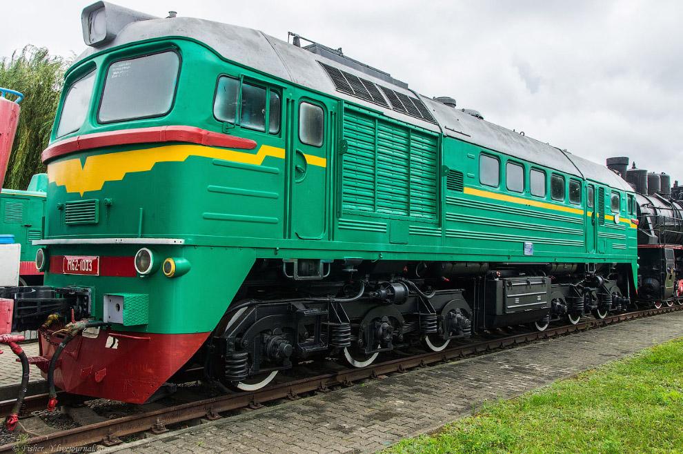 Грузо-пассажирский тепловоз М62 №1003
