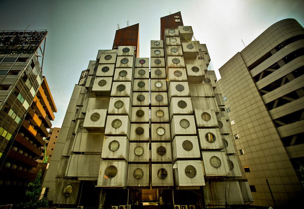 Башня Накагин, Токио