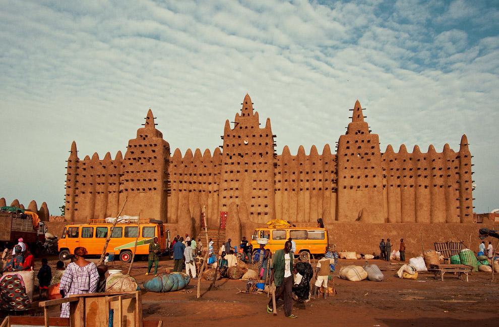 Мечеть Джингеребер, Тимбукту, Мали
