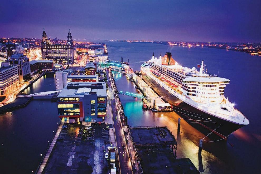 Ливерпульский порт, Ливерпуль, Великобритания