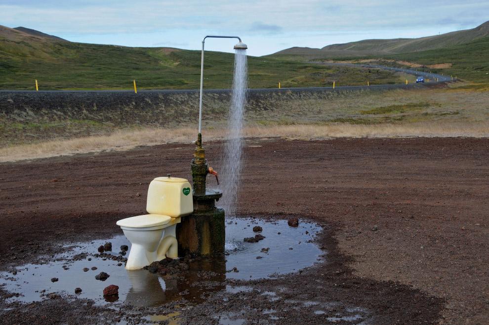 Кто бы мог подумать, что такое сооружение окажется на северо-востоке Исландии