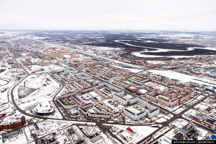 Город Новый Уренгой