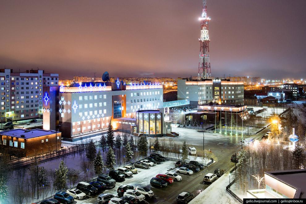 Центральный офис ООО «Газпром добыча Уренгой»