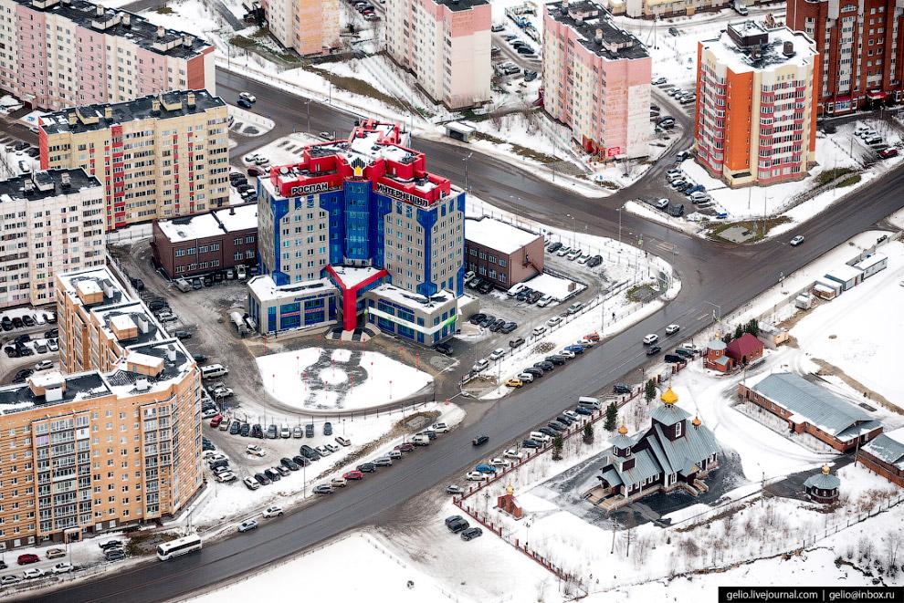 Гостинично-деловой центр «Строитель».