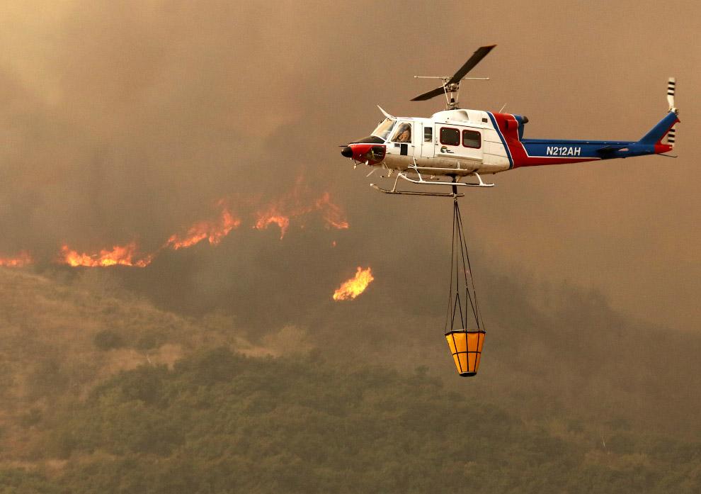 Пожарный вертолет, Калифорния