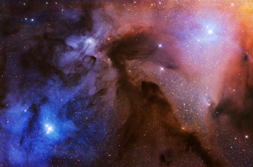 Молекулярное облако Ро Змееносца
