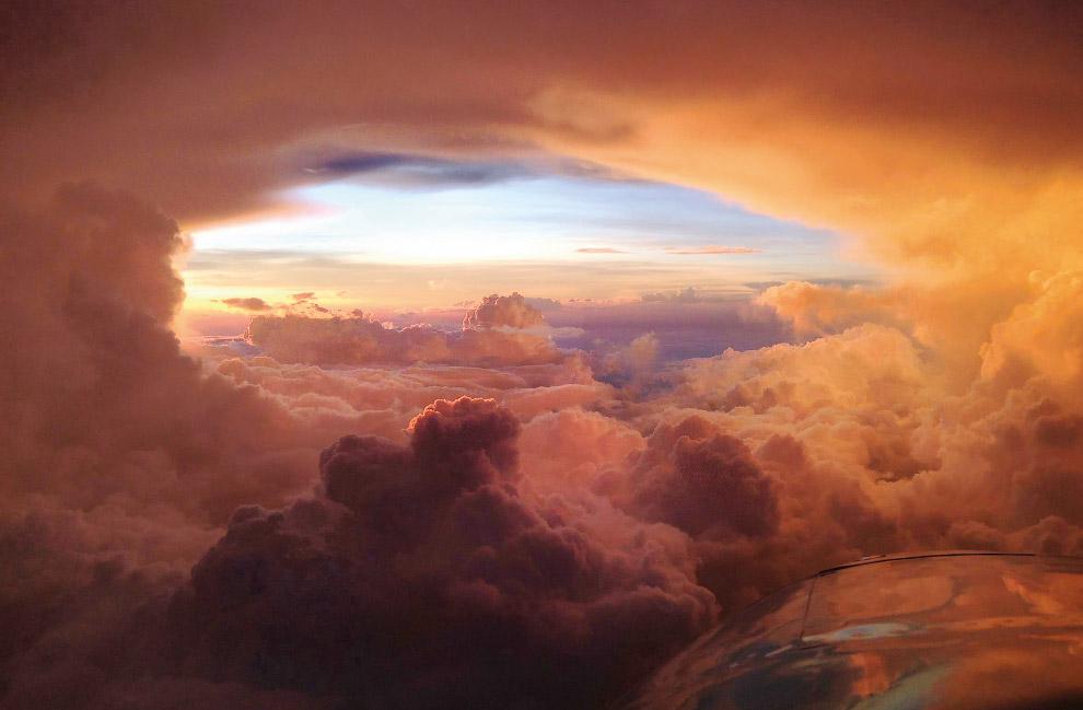 Облака над Ричмондом, Квинсленд, Австралия