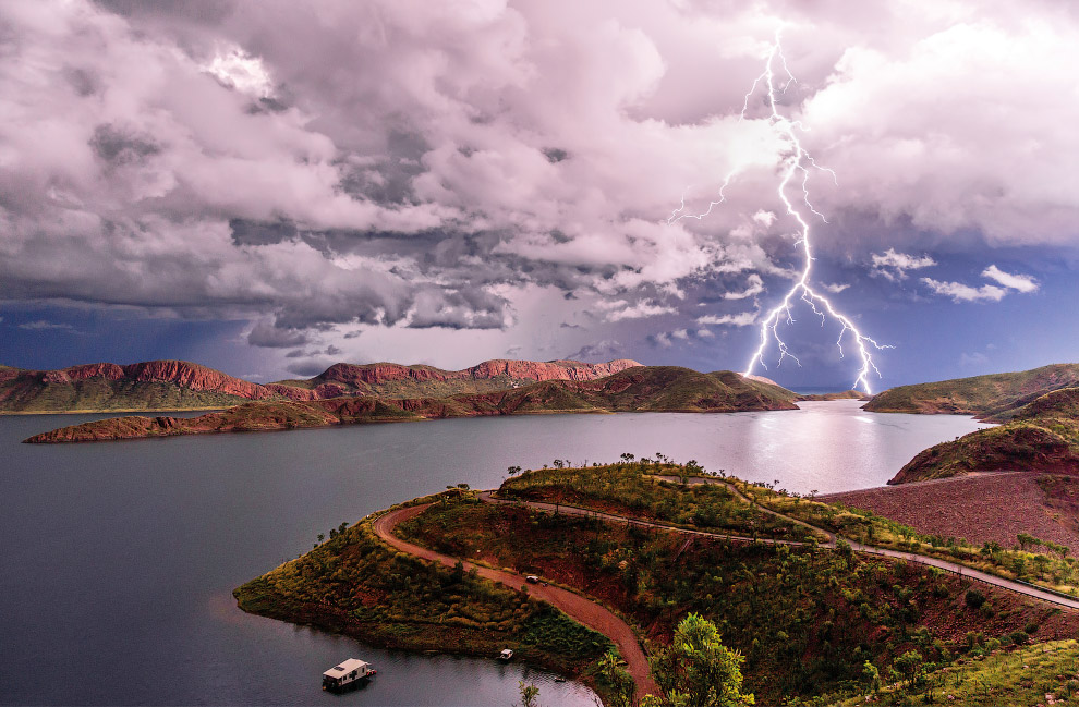 Озеро Аргайл
