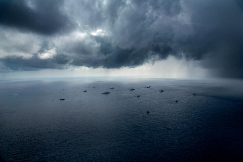 Буря и корабли над Северной территорией