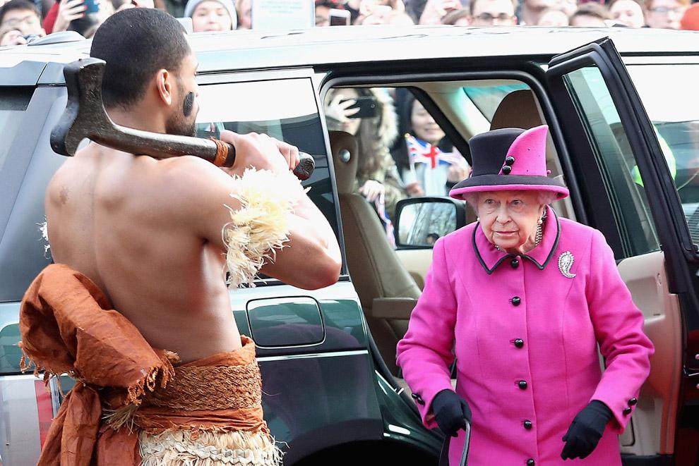 Королева приехала на Фиджи