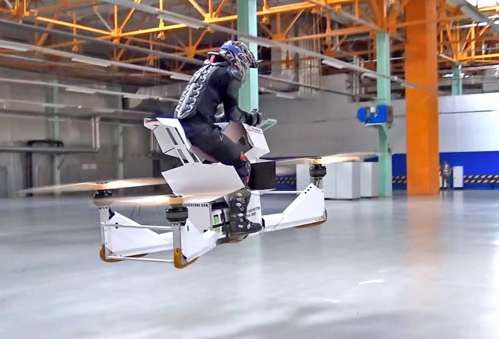 Мотоцикл от российской компании Hover Surf