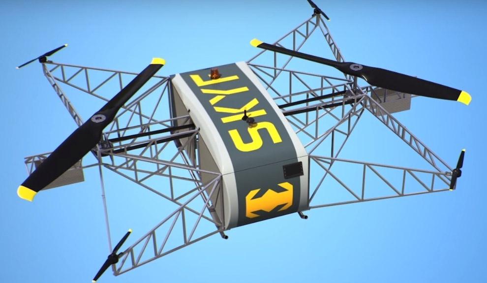 Грузовой дрон Skyf